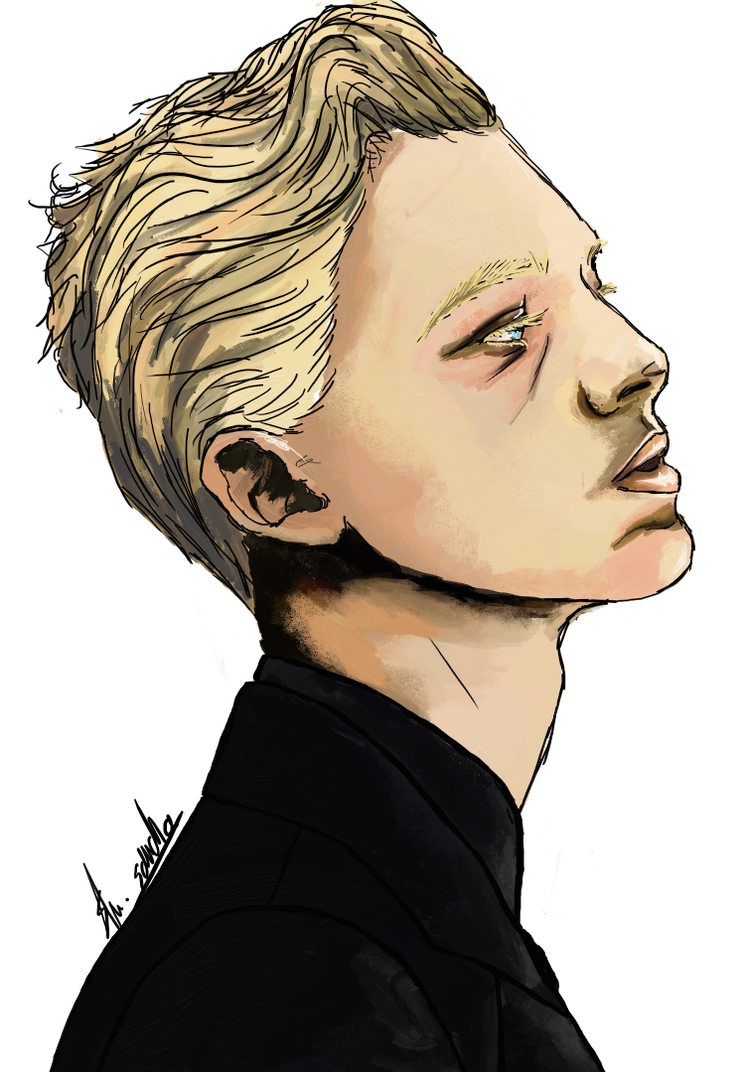 Draco drawing. Malfoy by tinywildcat on