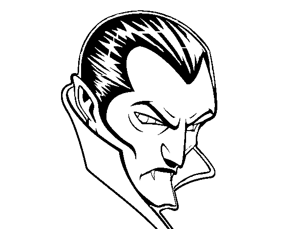 Dracula clipart drawing. Drawings of colouring pages
