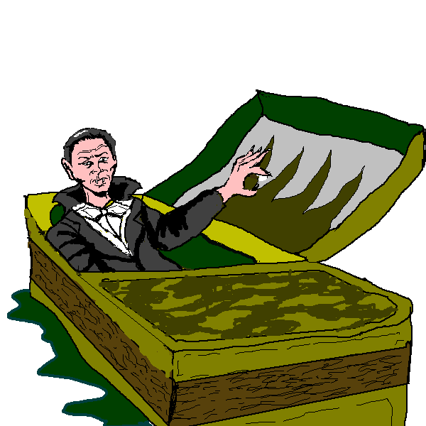 Waking clipart. Free dracula cliparts download