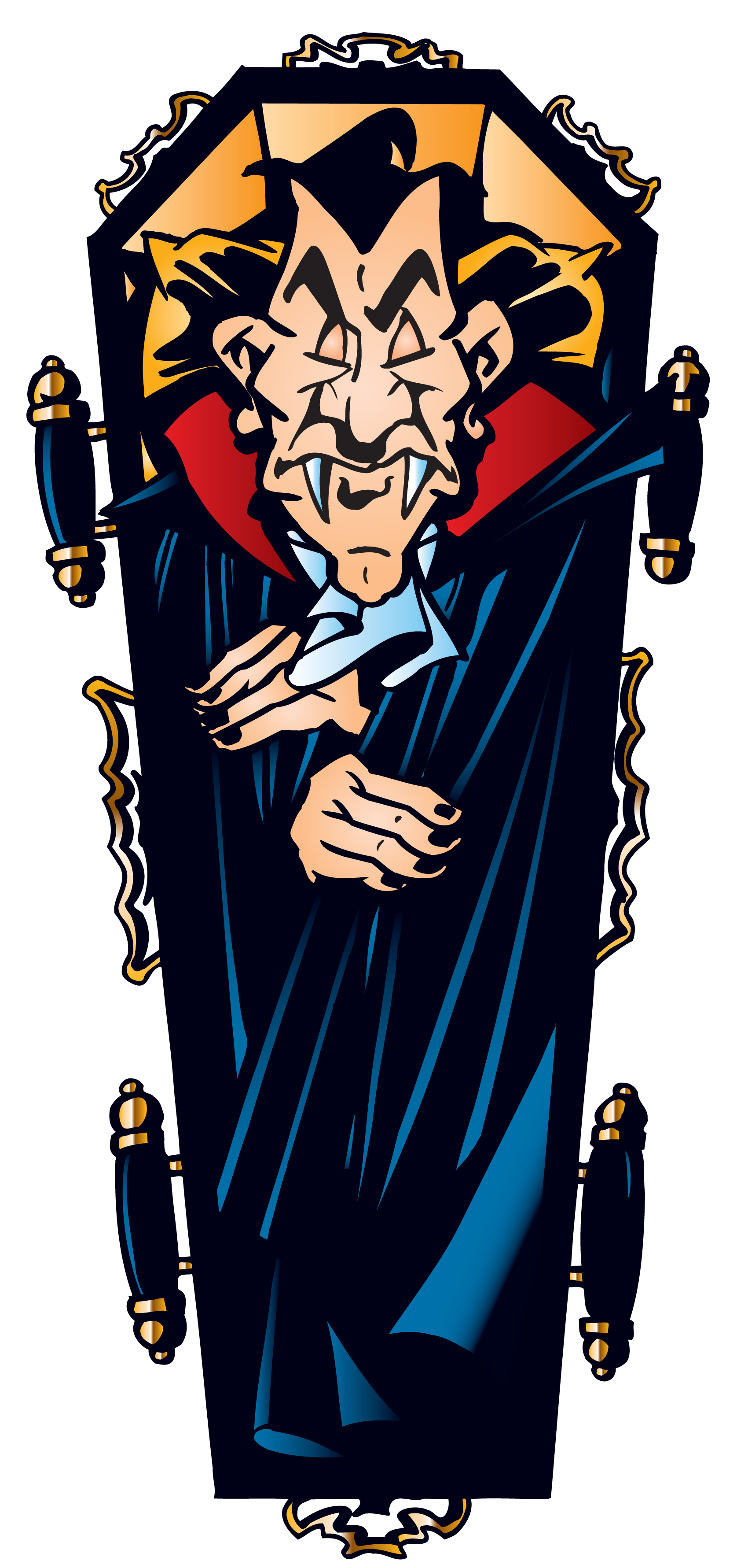 Coffin clipart png. Halloween vampire in gallery