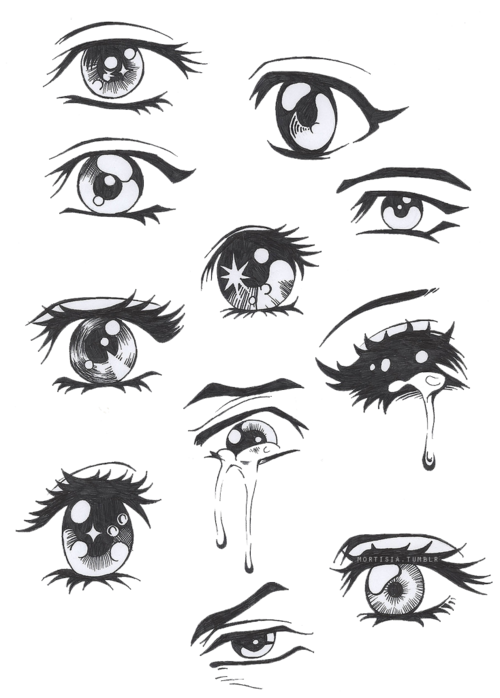 Pinterest transparent eye. Manga eyes edit by