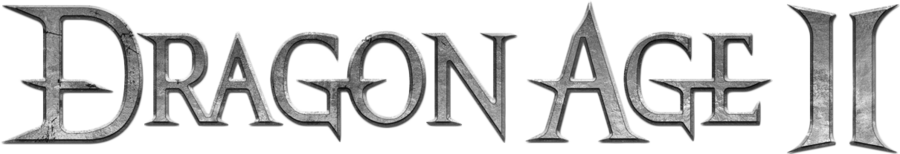 Dragon age 2 logo png. By micro on deviantart