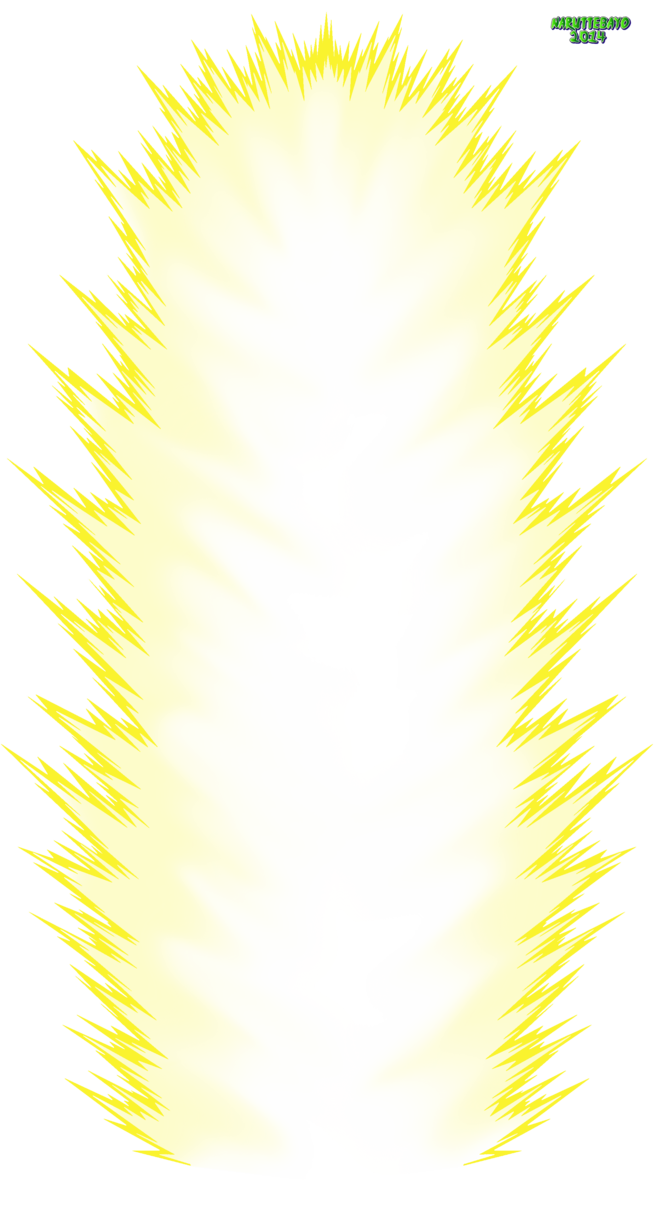 Super saiyan effect png. Aura dragon ball z