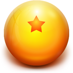 Dragon ball ball png. Icon z iconset musett