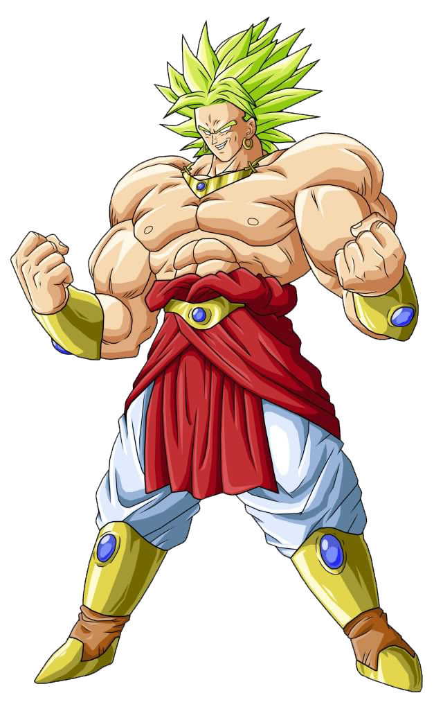 broly dragon ball png