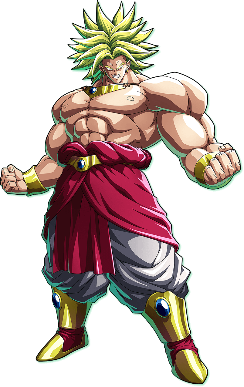 Dragon ball fighterz broly png. New visuals surface for