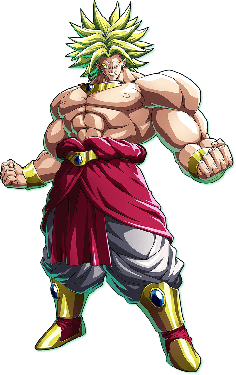 Dragon ball fighterz broly png. Fighters generation on