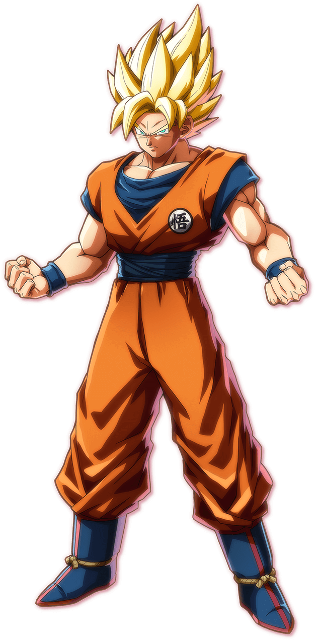 Dragon ball fighterz png. Image son goku db