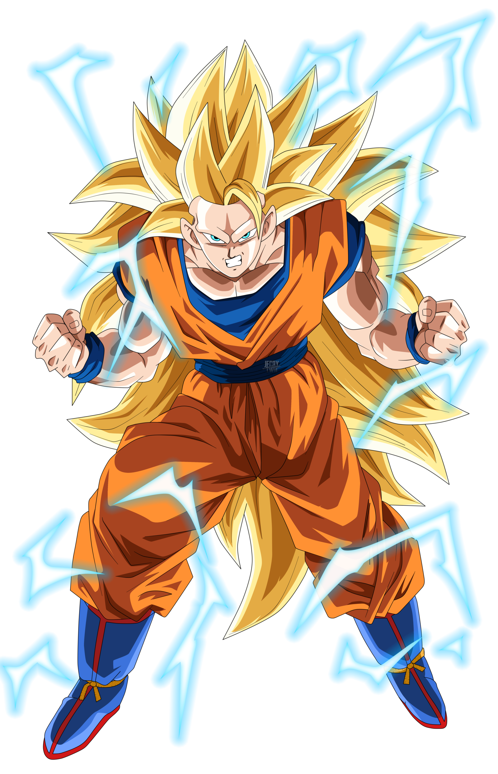 Dragon ball png. Son goku super saiyajin