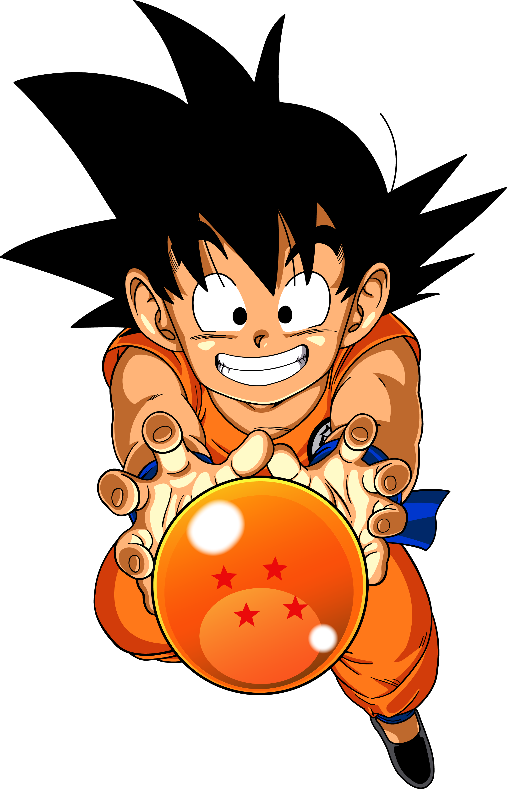 Dragon ball png. Dragonball kid goku by