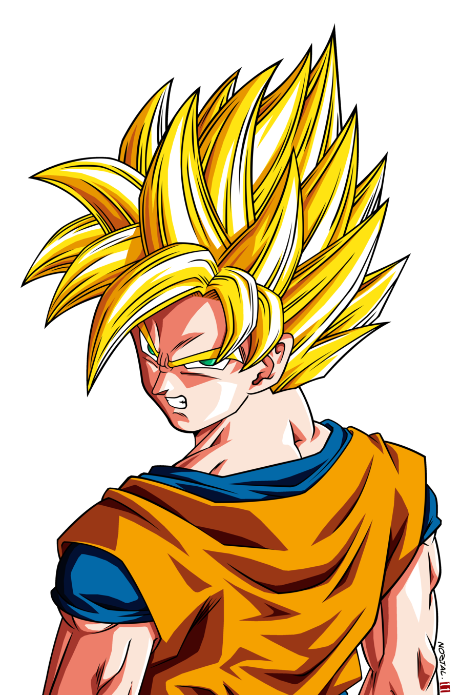 Goku png hd. Image son ssj raging