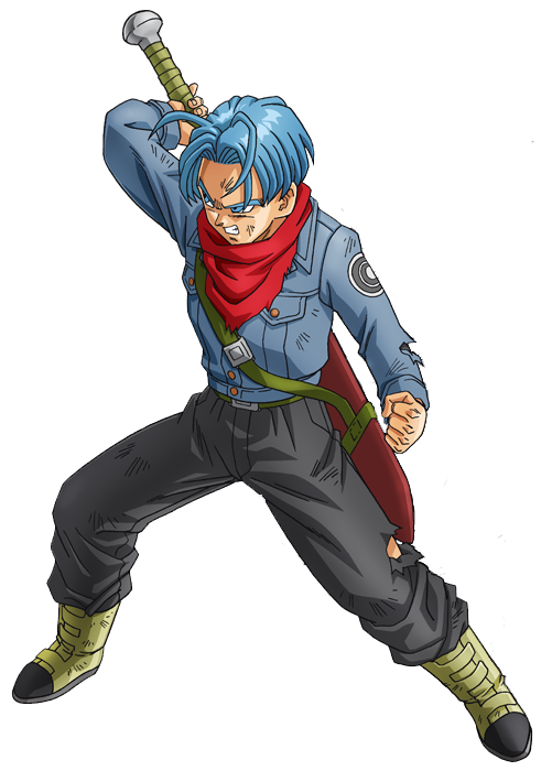 dragon ball super future trunks png