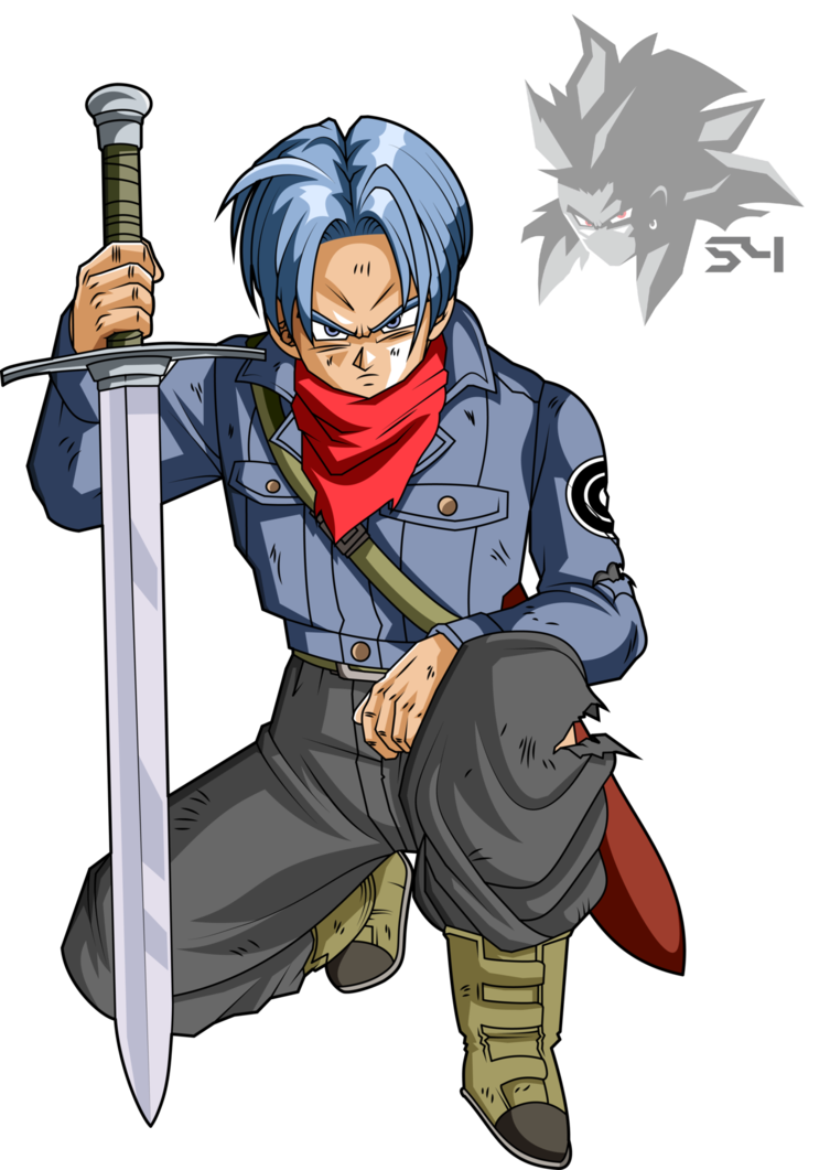 Dragon ball super future trunks png. By mad on deviantart