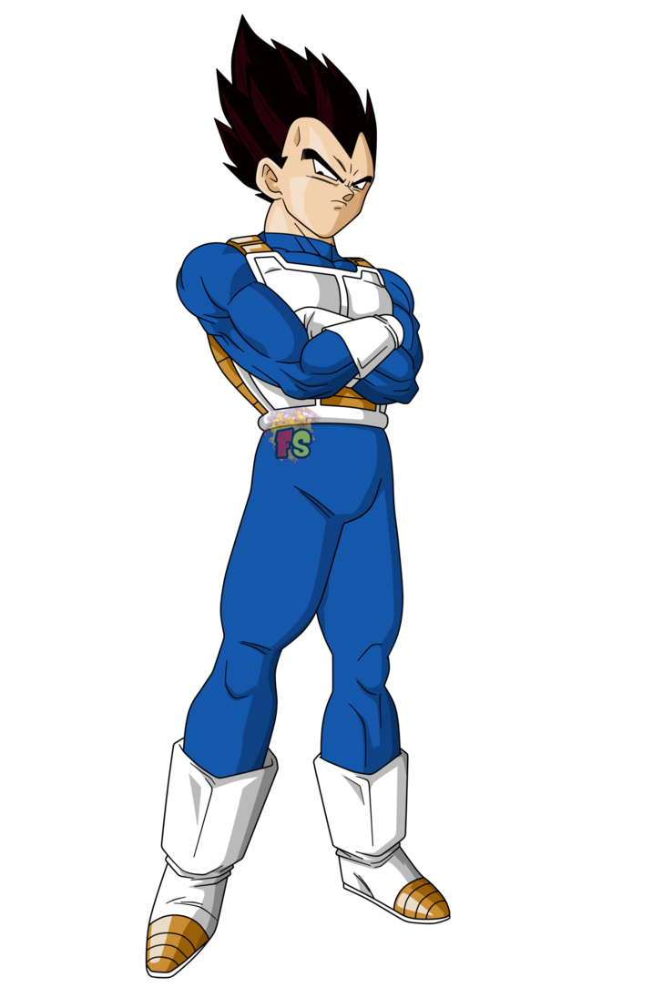 Dragon ball vegeta png. Super render by fradayesmarkers