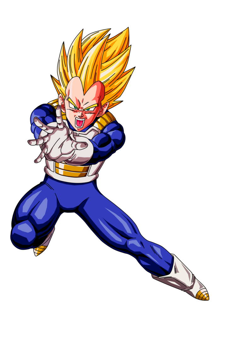 Dragon ball vegeta png. Image ssj by dbzartist