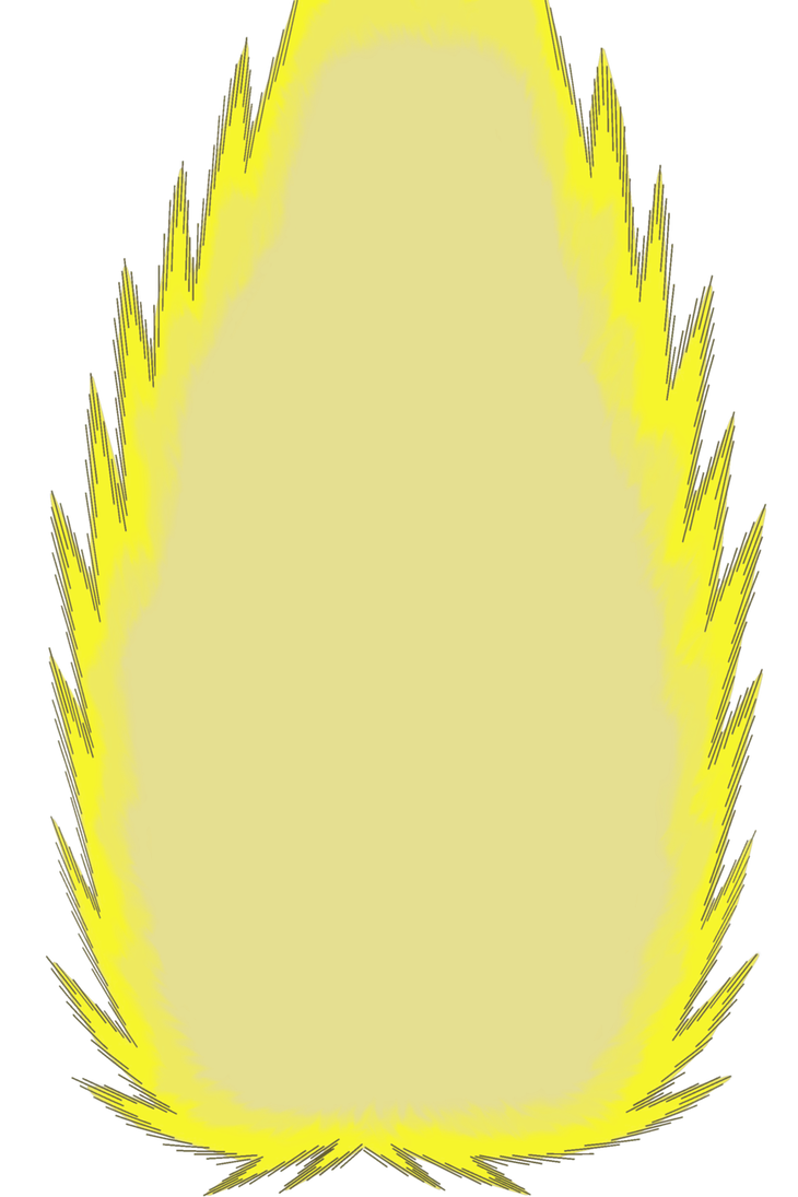 Dragon ball z aura png. By tfmast on deviantart