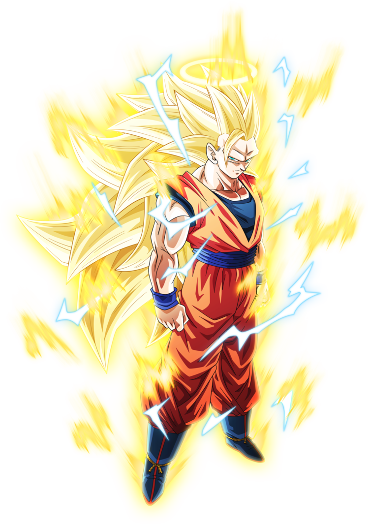 Dragon ball z aura png. Super saiyan goku by