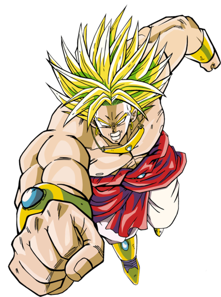 Dragon ball z broly png. Psd official psds share