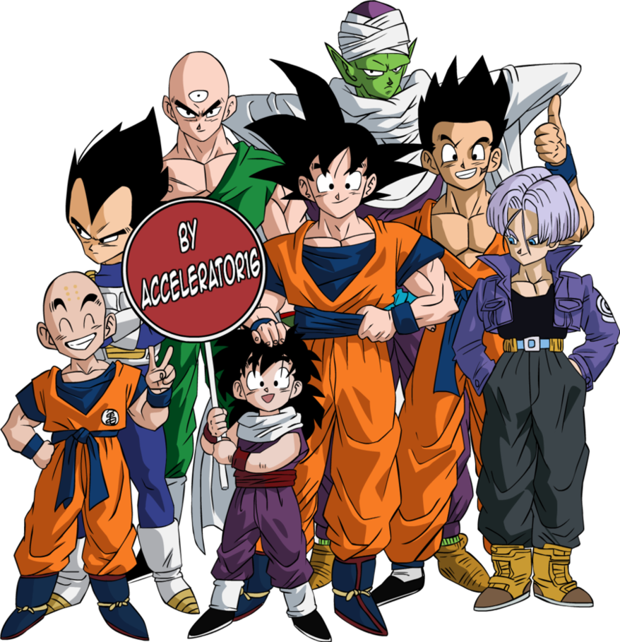 Dragon ball z characters png. Photos mart