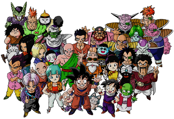 Dragon ball z characters png. Download free image dlpng