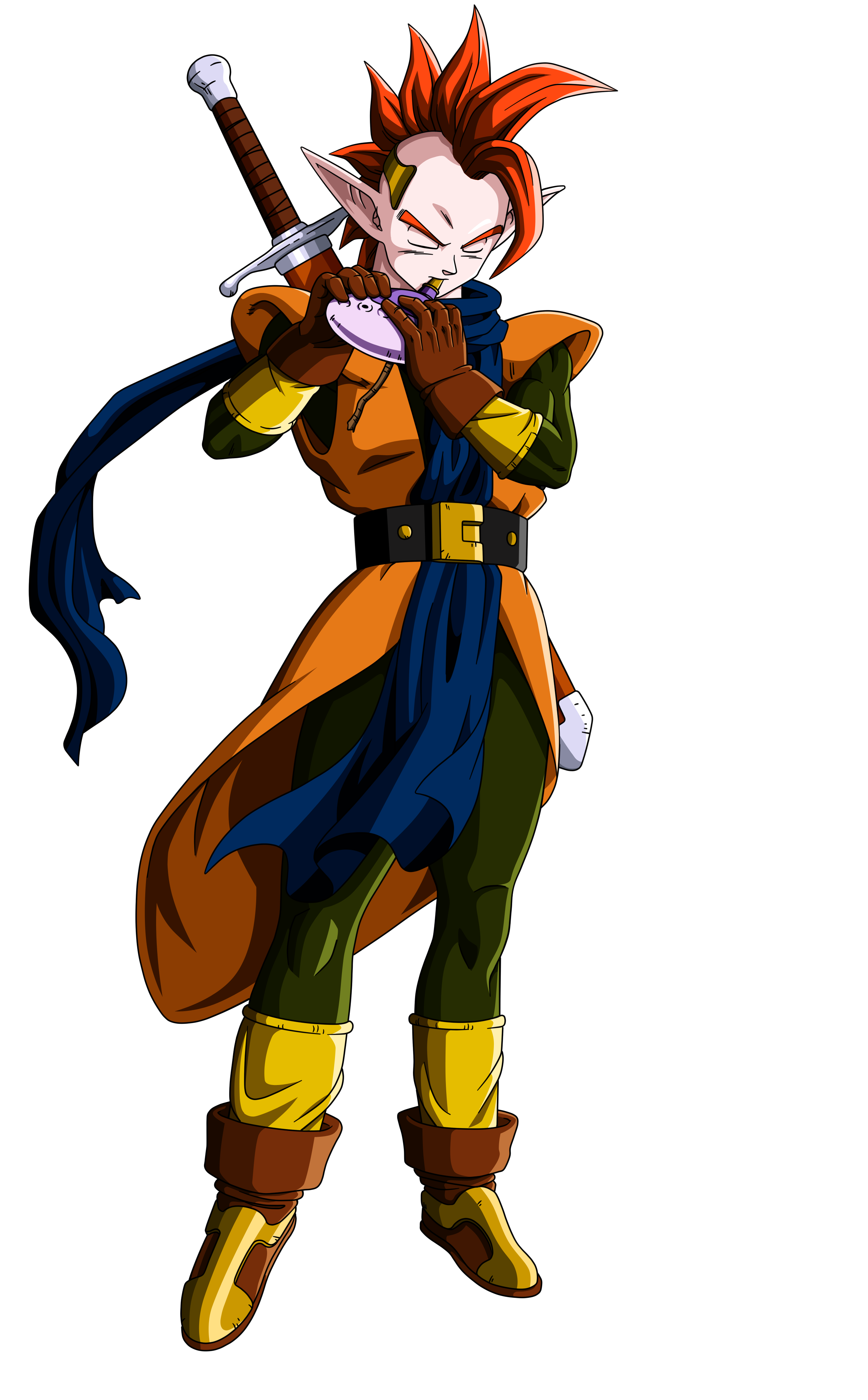 Dragon ball z characters png. Tapion by orco on