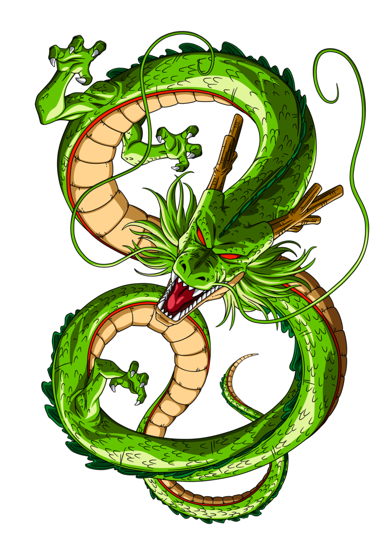 Shenron vector. By orco on deviantart