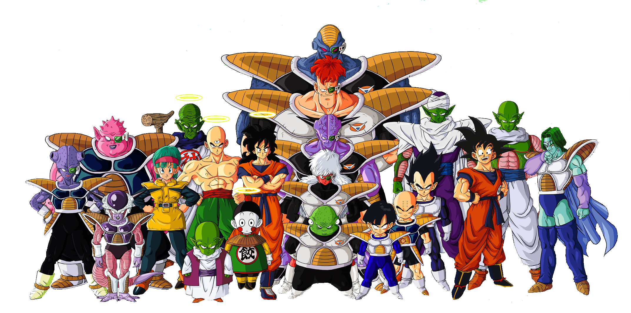 Dragon ball z png. Characters file mart