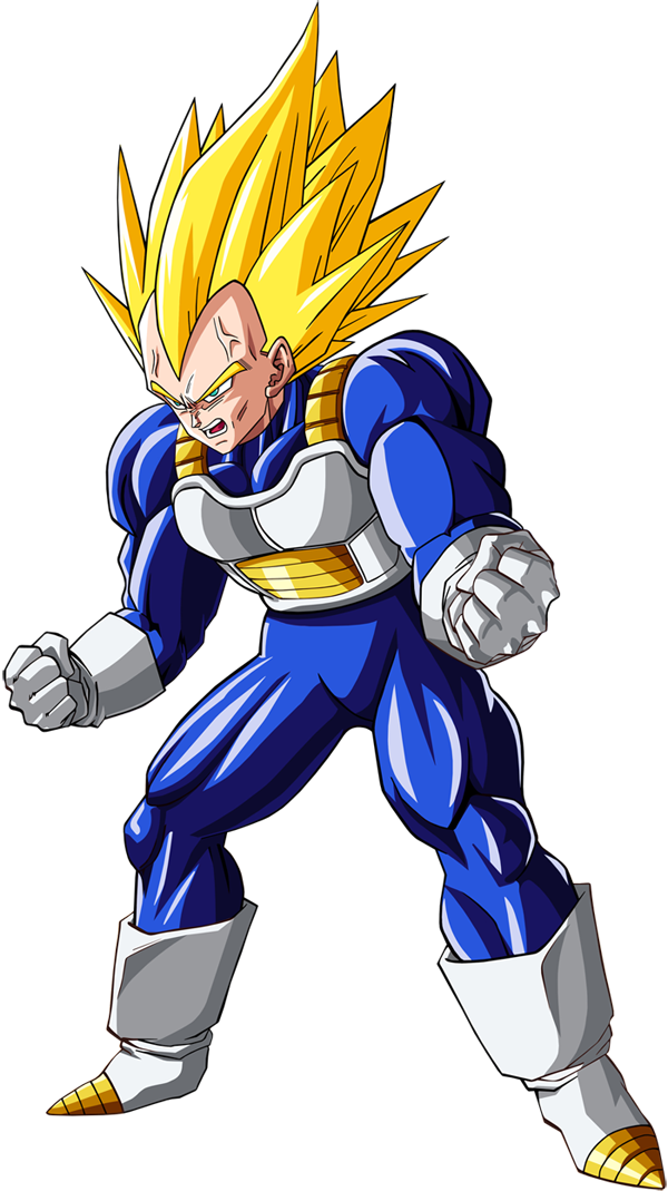 dragon ball z vegeta png