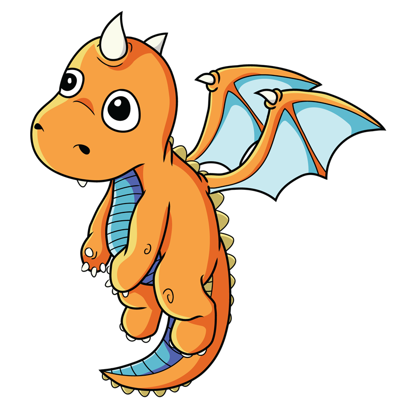 Dragon clip cool. Clipart graphics illustrations free