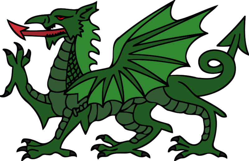 Dragon clip fierce. Collection of clipart