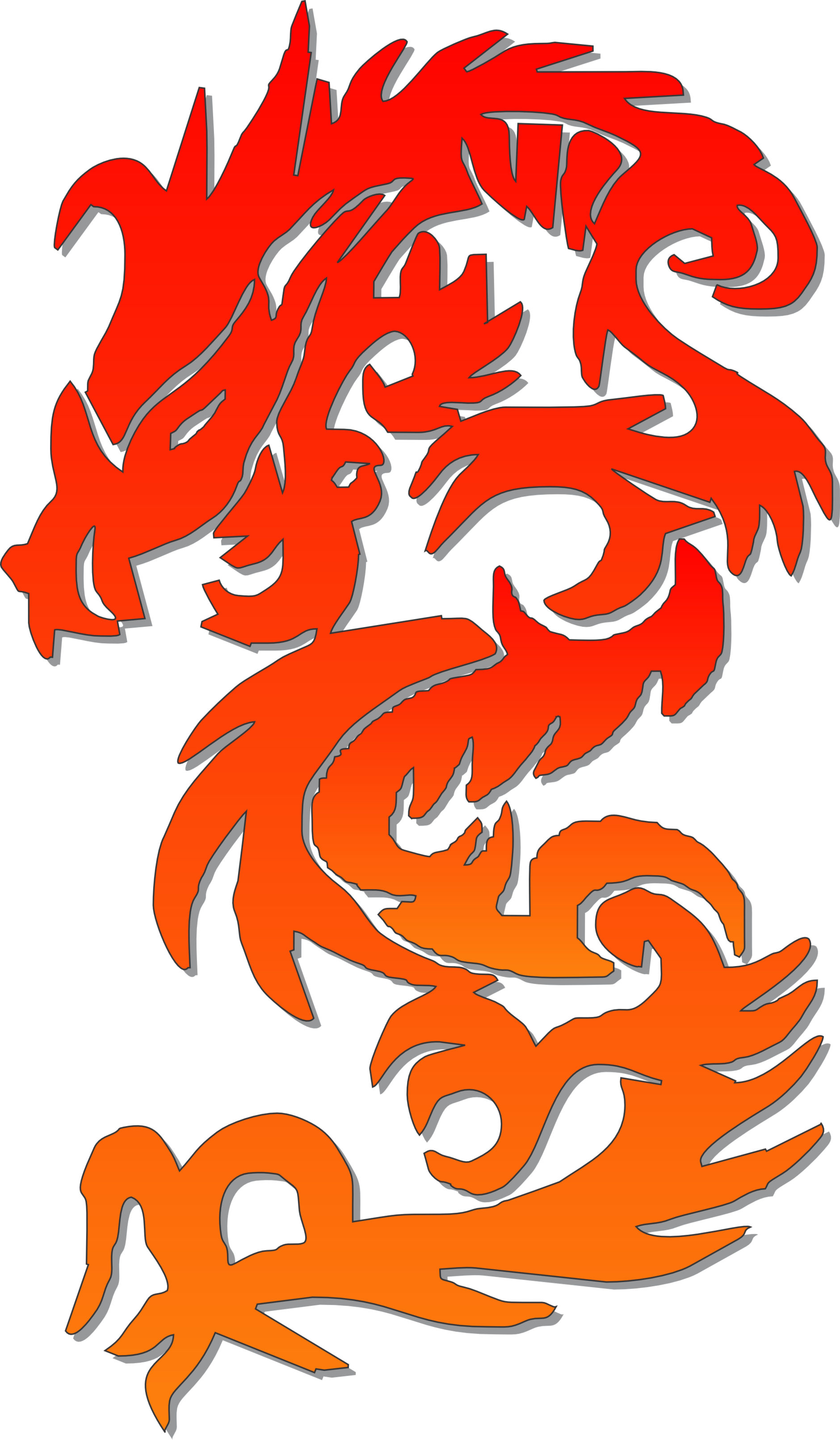 Chinese clouds png. Dragon clipart calendar embroidery