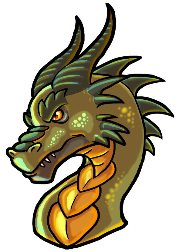 Dragon head png. By wforwumbo on deviantart