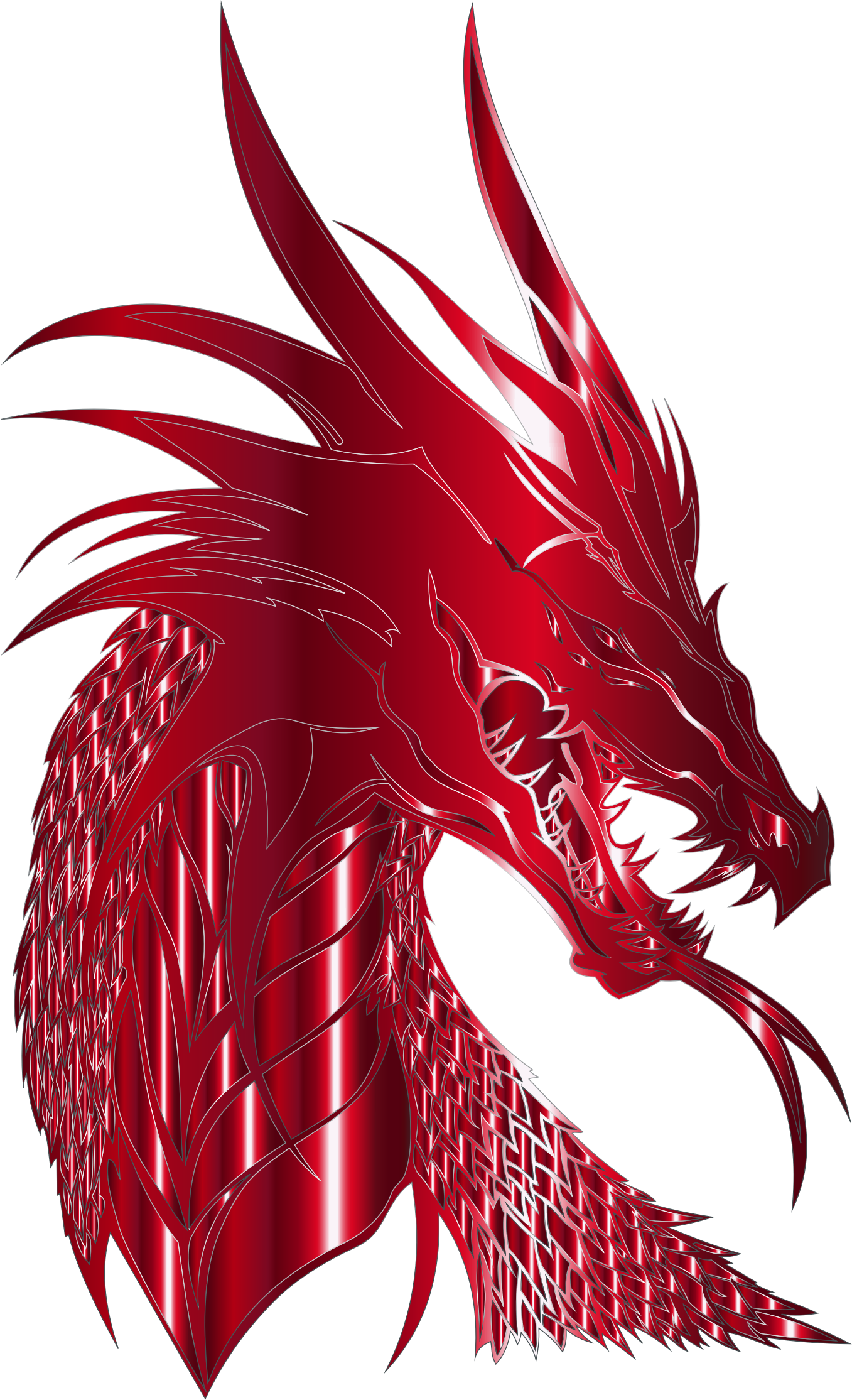 Dragon head png. Crimson icons free and