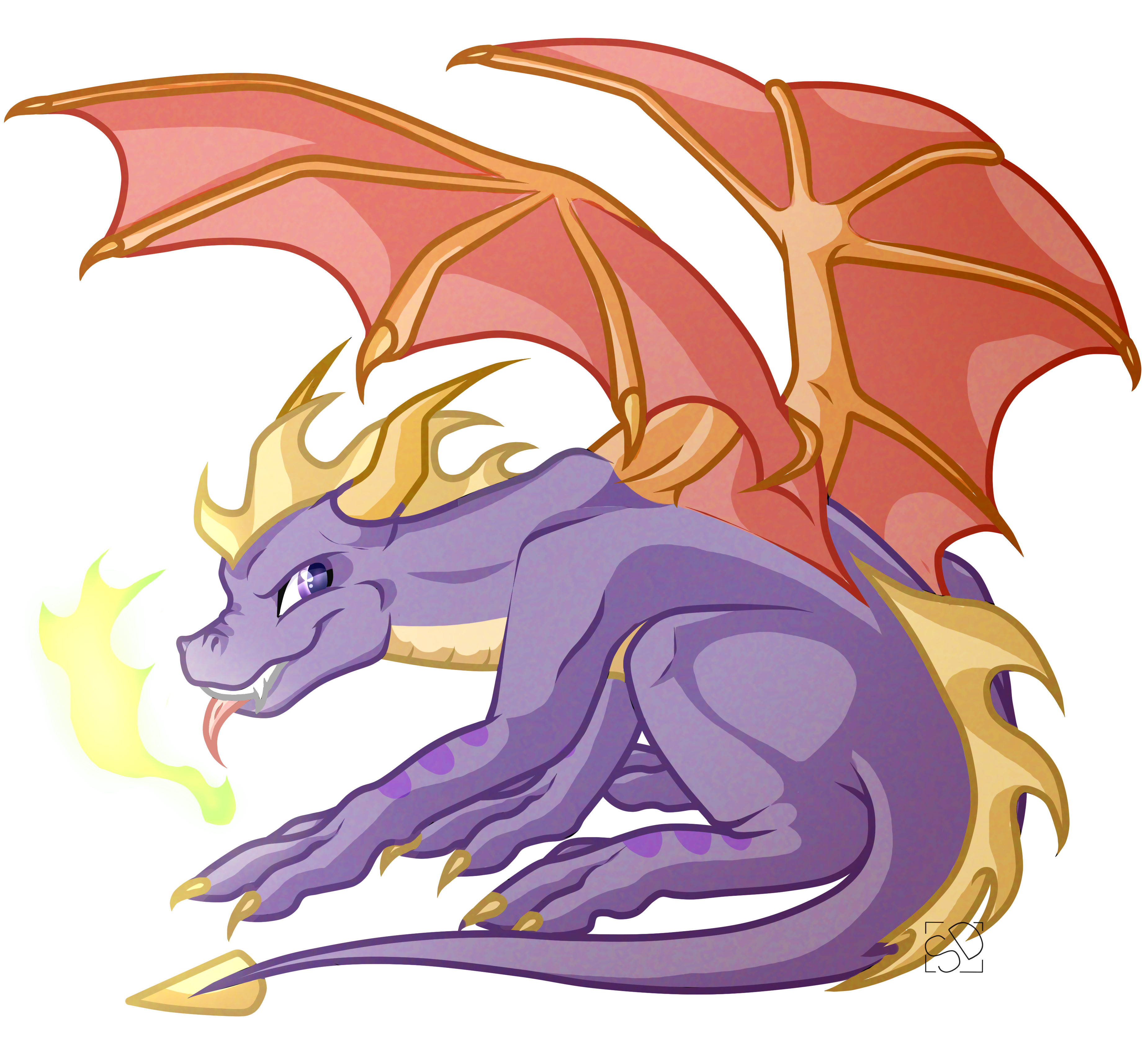 Dragon horns cartoon png. Spyro the by amazing