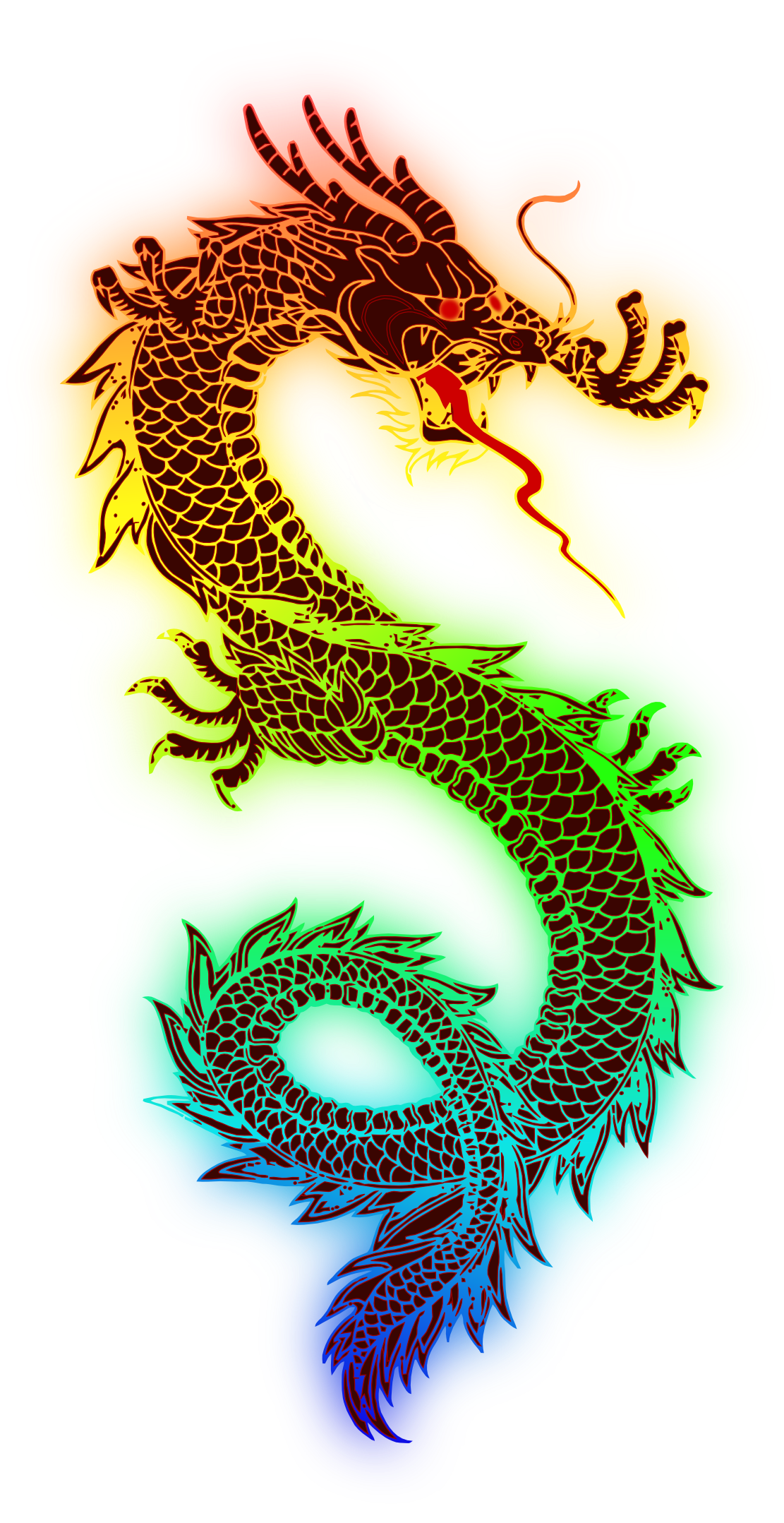 Dragon png image. Chinese transparent images all