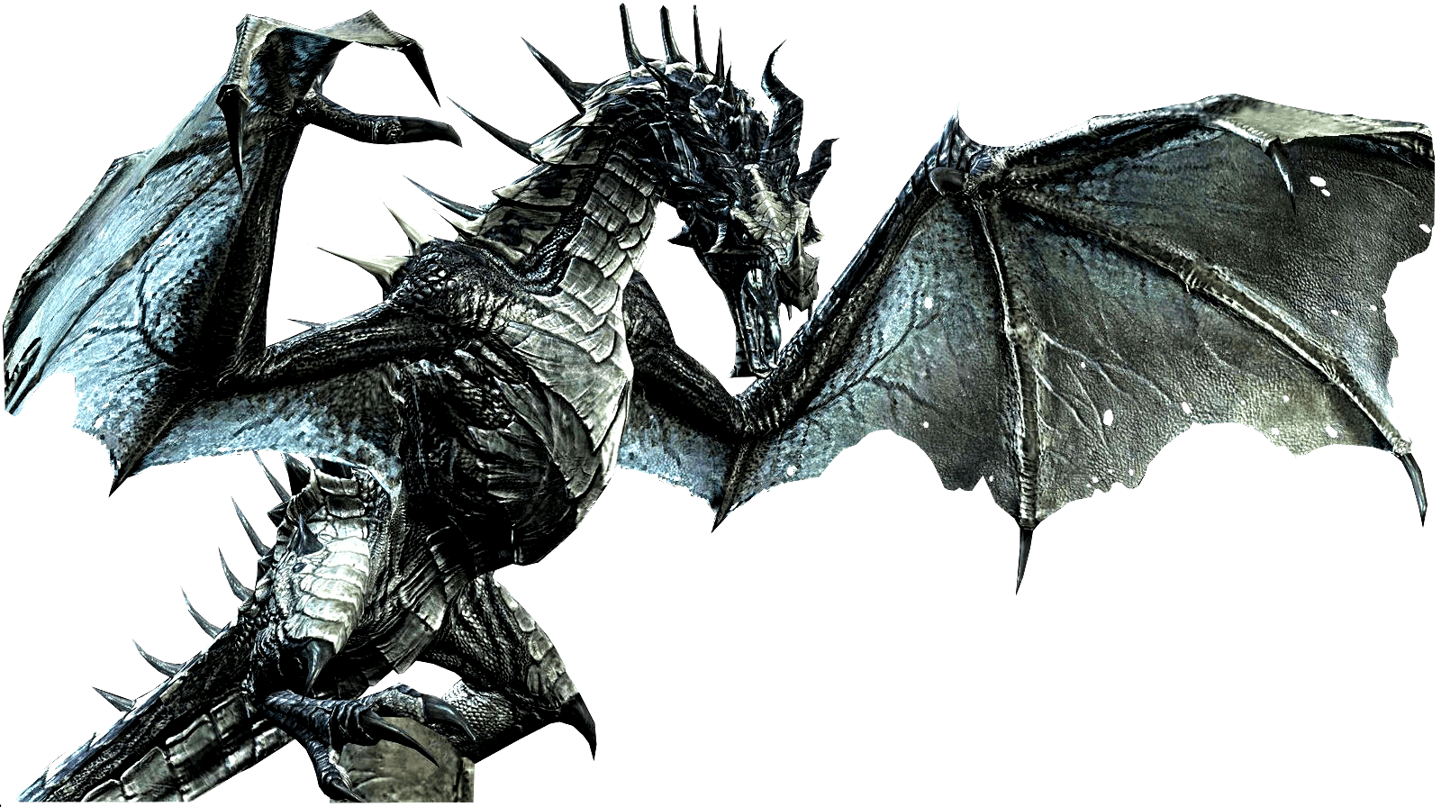 Skyrim png. Elder scrolls dragon transparent