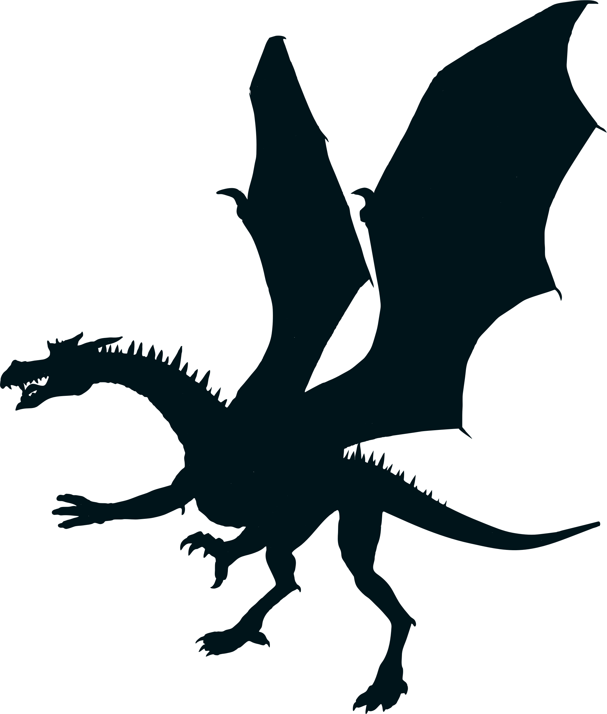 Dragon clip game thrones. Green silhouette icons png
