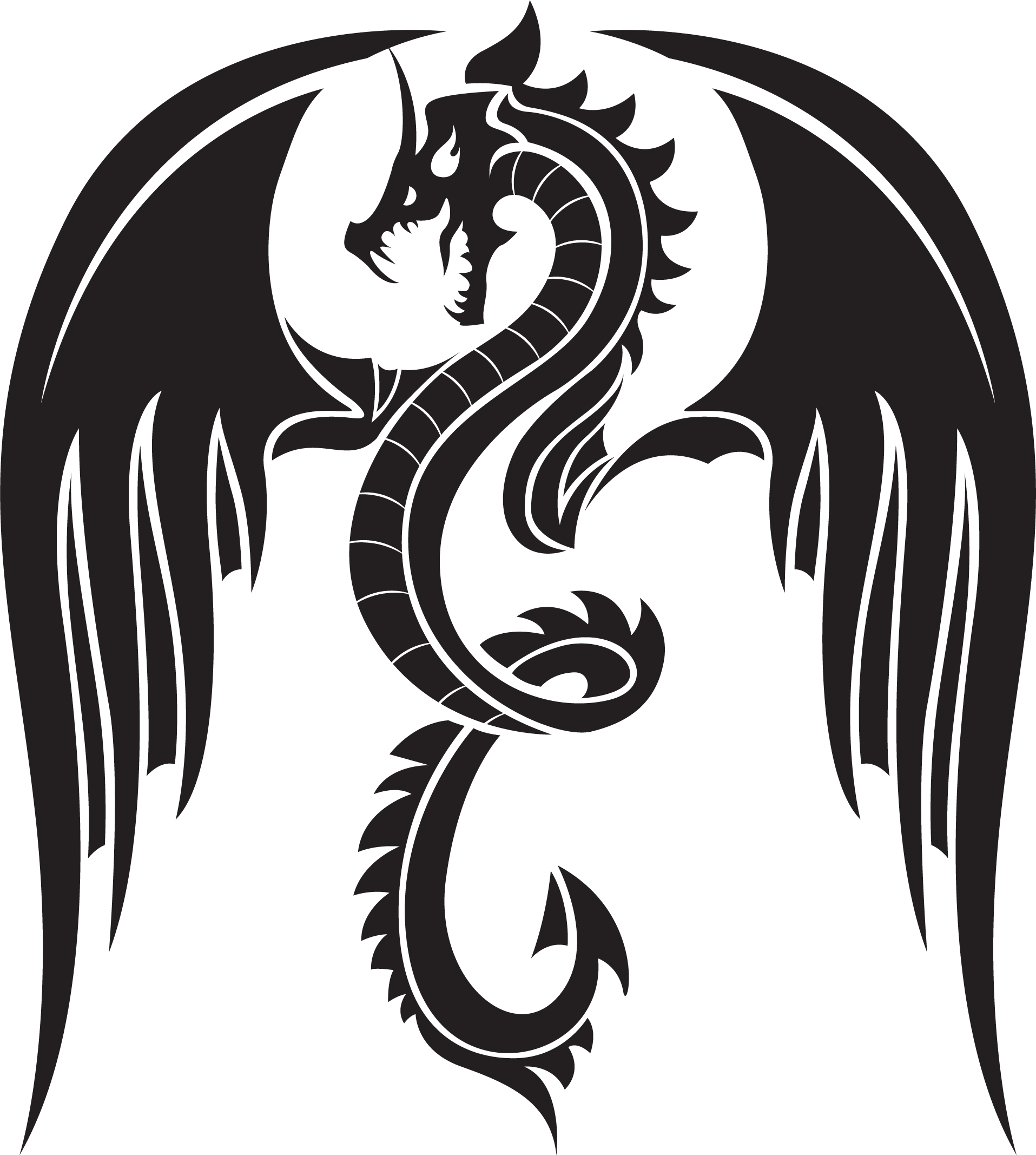 Dragon tattoo png. Images transparent pictures only