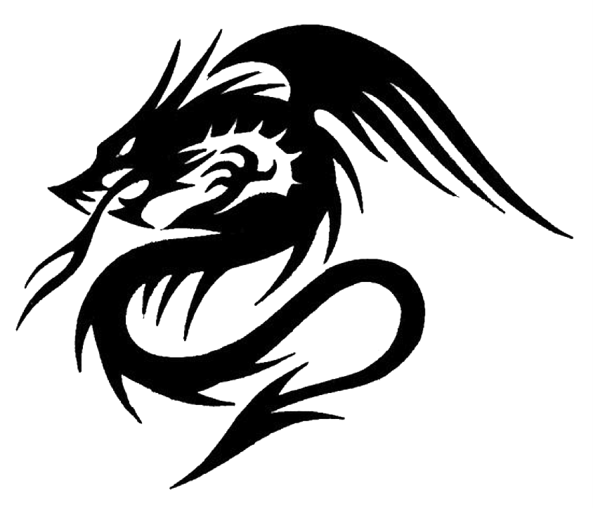 Spade tattoo png. Dragon tattoos art pinterest