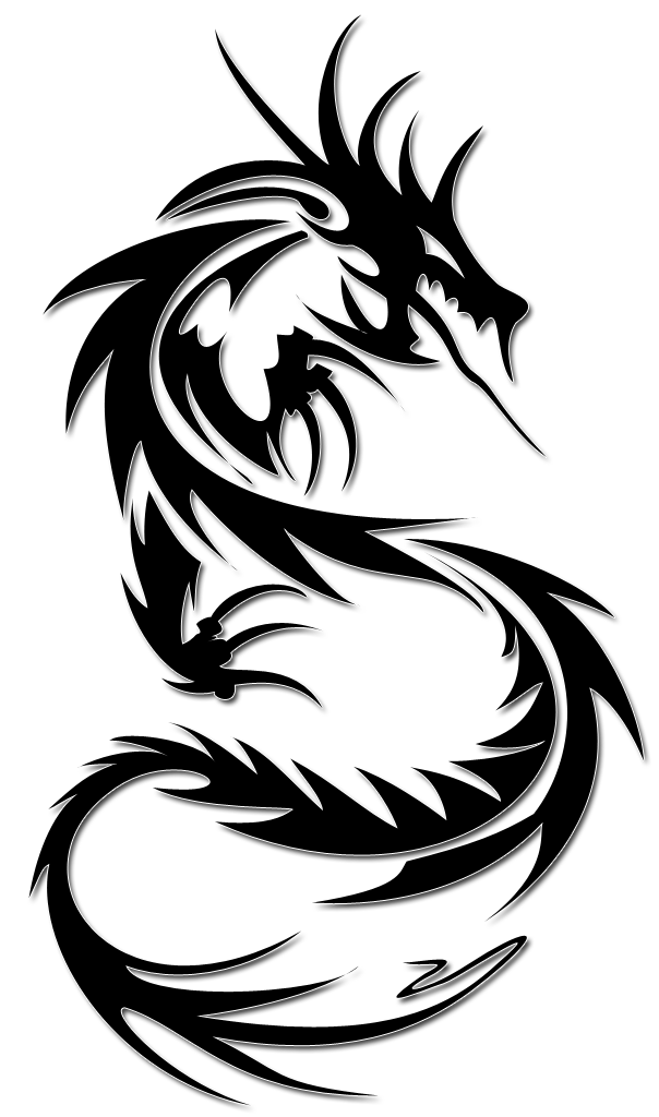 Dragon tribal tattoo png. Tattoos transparent images pluspng