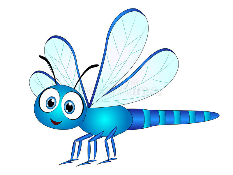 Cartoon clip art stock. Dragonfly clipart picture freeuse download