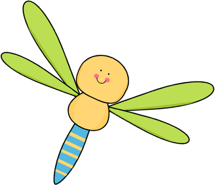Dragonfly transparent cute cartoon. Free cliparts download clip