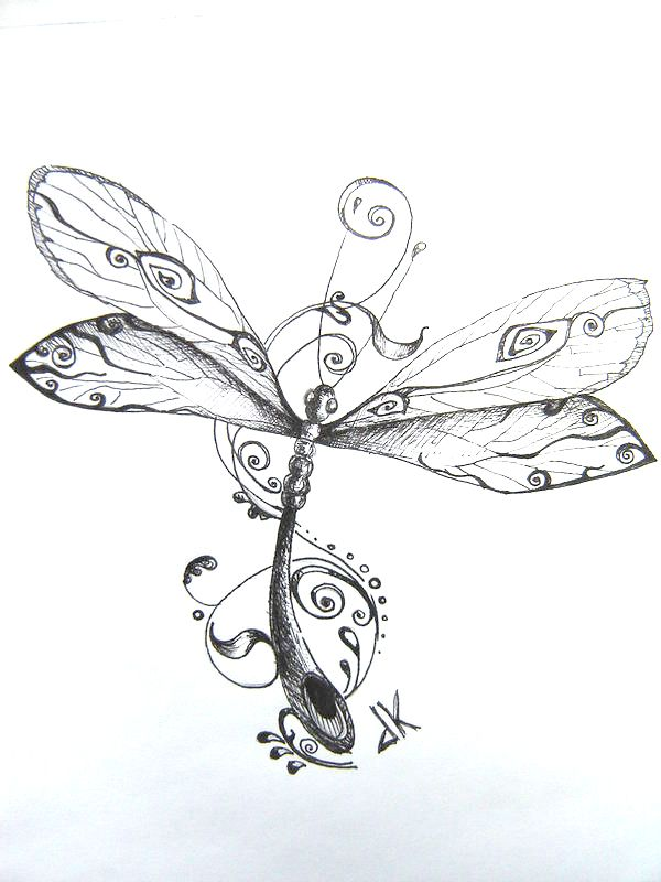 Dragonfly clipart dragonfly tattoo. Image detail for list