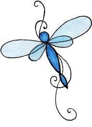 Dragonfly clipart dragonfly tattoo. Lib lula macetitas pinterest