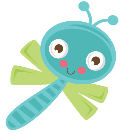 Dragonfly clipart svg. Cute cut files for