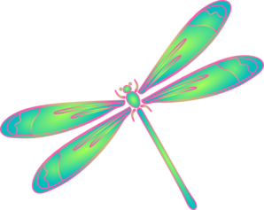 Dragonfly transparent clip art. Outline clipart panda free