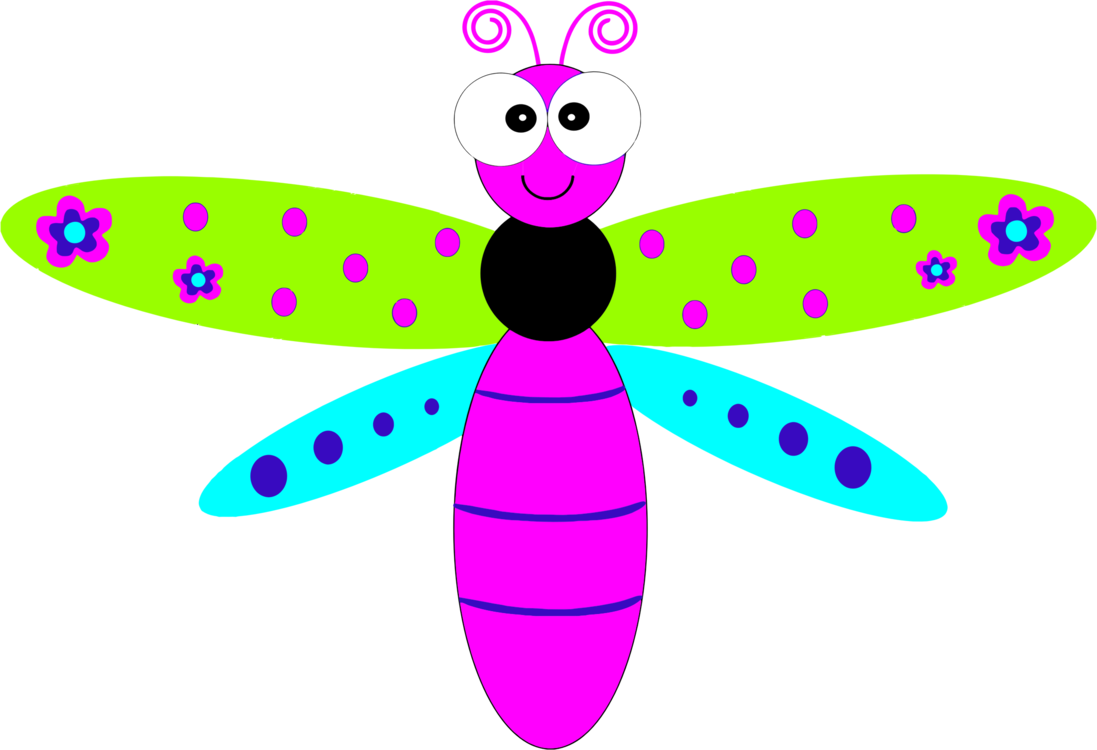 Dragonfly transparent cartoon. Drawing free commercial clipart
