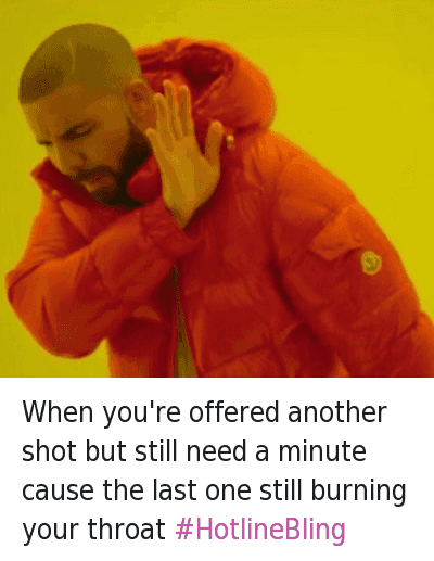 Drake hotline bling meme png. And mfw when