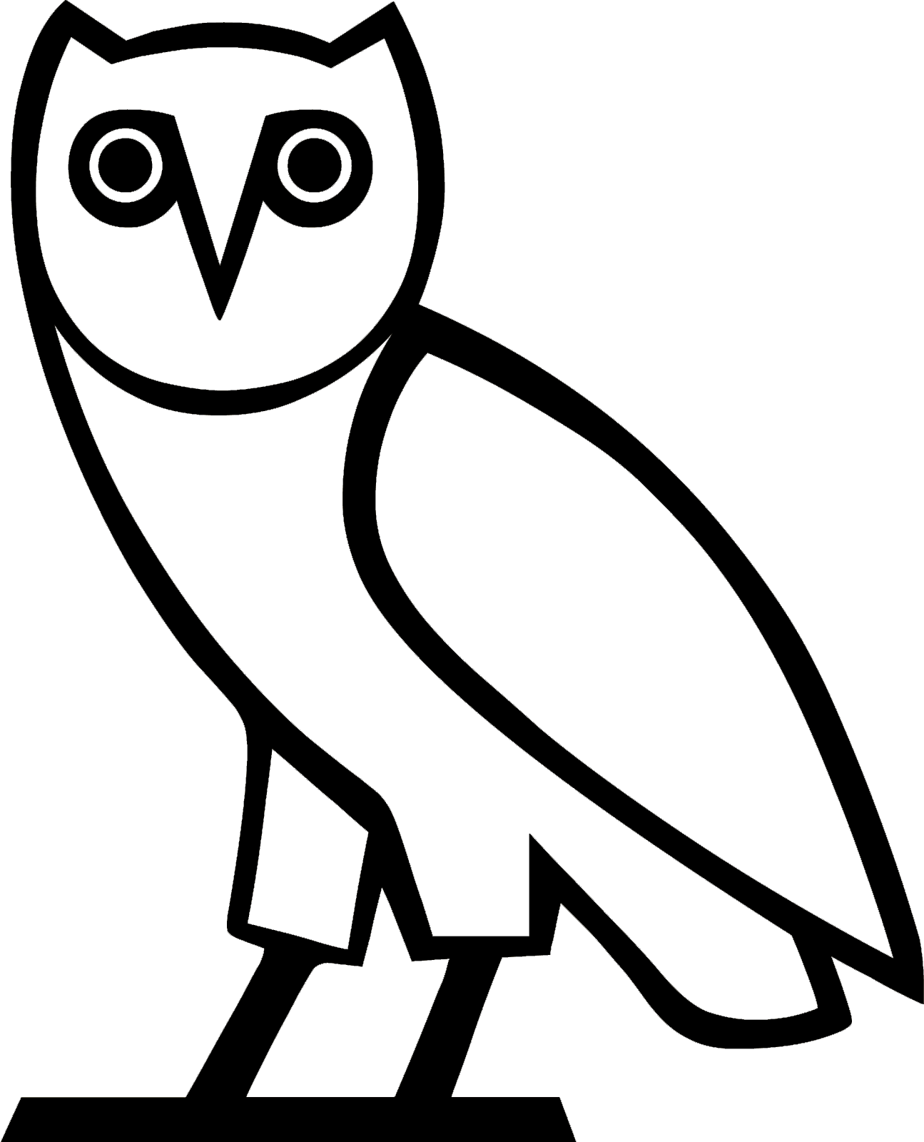 Ovo owl png. Boutique drake achat en