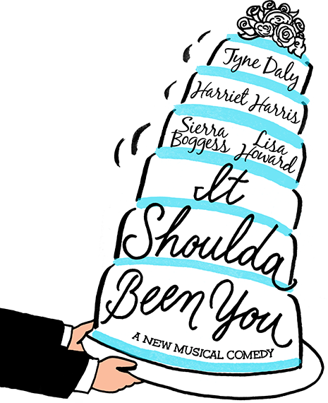 Drama clipart broadway musical. It shoulda been you